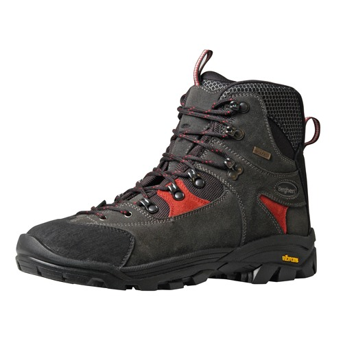 Chaussures Berghen romeu wp anthracite/red