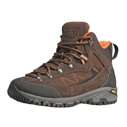 Chaussures Berghen bornand wp brown/orange