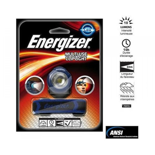 Lampe frontale Energizer multi use cliplight