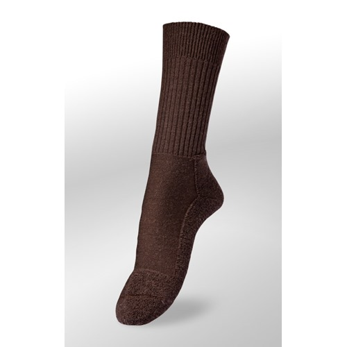 Chaussettes Veith light braun merinos