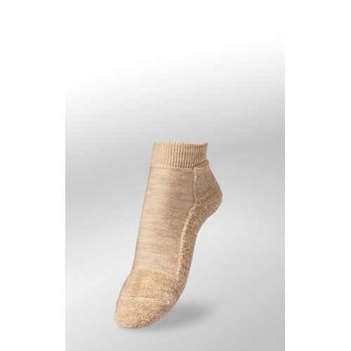 Chaussettes Veith courtes sand merino