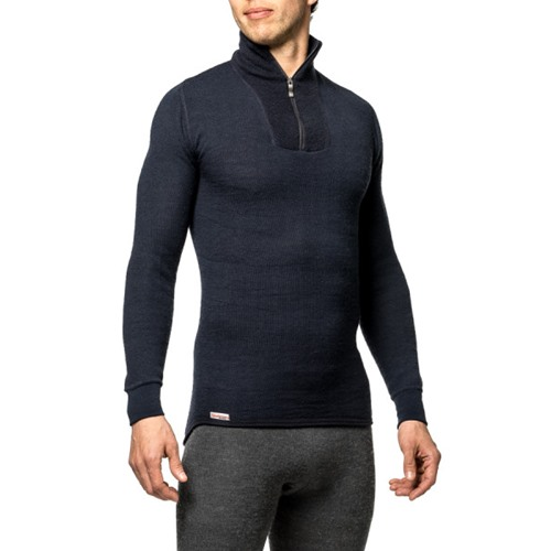 Woolpower zip turtleneck 200 unisexe mérinos