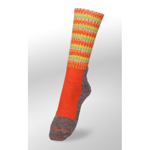 Chaussettes Veith strong orange taiga