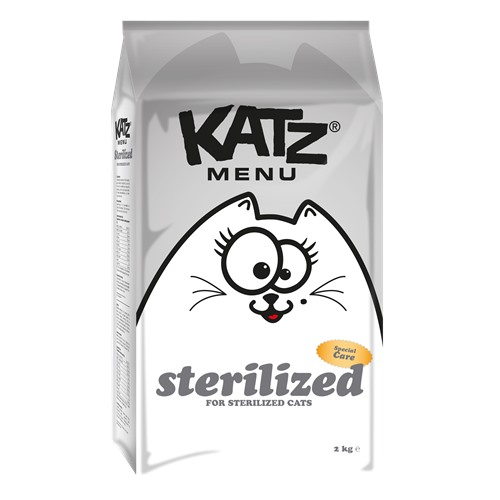 Aliment pour chats Katzmenu sterilized 400g
