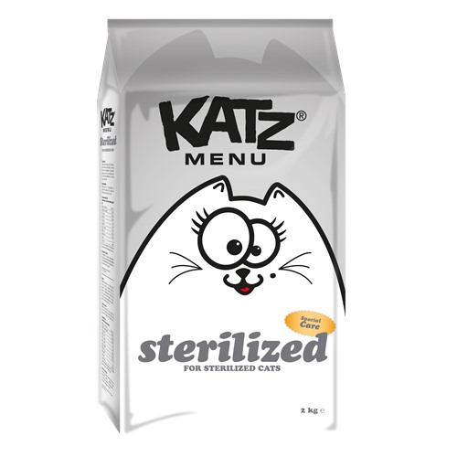 Aliment pour chats Katzmenu sterilized 2kg