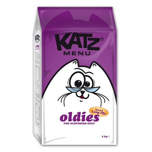 Aliment pour chats Katzmenu oldies 2kg