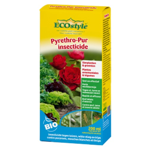 Insecticide Ecostyle pyrethro-pur 200ml