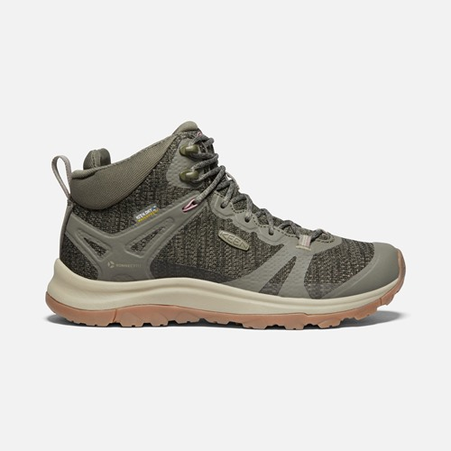 Chaussures Keen terradora II mid dusty olive dame